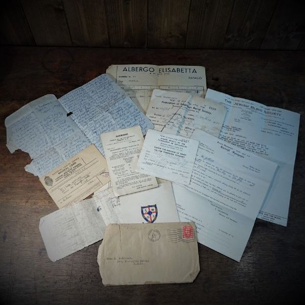 Personal Papers from the Gottlieb Family from the 1950's